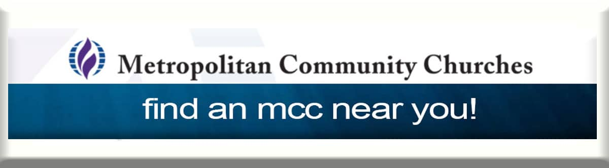 Find an MCC in your town (Metropolitan Community Church locator)