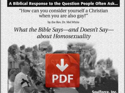 What the Bible Says About homosexuality - Mel White